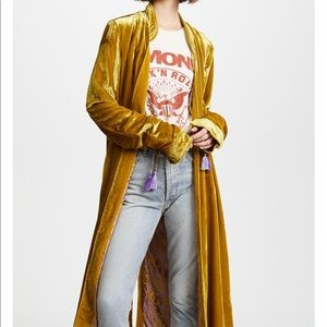 Free People Gold Duster. Beautiful piece.